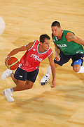 DESCRIZIONE : Bormio Ritiro Nazionale Italiana Maschile Preparazione Eurobasket 2007 Allenamento <br /> GIOCATORE : Massimo Bulleri<br /> SQUADRA : Nazionale Italia Uomini EVENTO : Bormio Ritiro Nazionale Italiana Uomini Preparazione Eurobasket 2007 GARA :<br /> DATA : 24/07/2007 <br /> CATEGORIA : Allenamento <br /> SPORT : Pallacanestro <br /> AUTORE : Agenzia Ciamillo-Castoria/S.Silvestri <br /> Galleria : Fip Nazionali 2007 <br /> Fotonotizia : Bormio Ritiro Nazionale Italiana Maschile Preparazione Eurobasket 2007 Allenamento <br /> Predefinita :