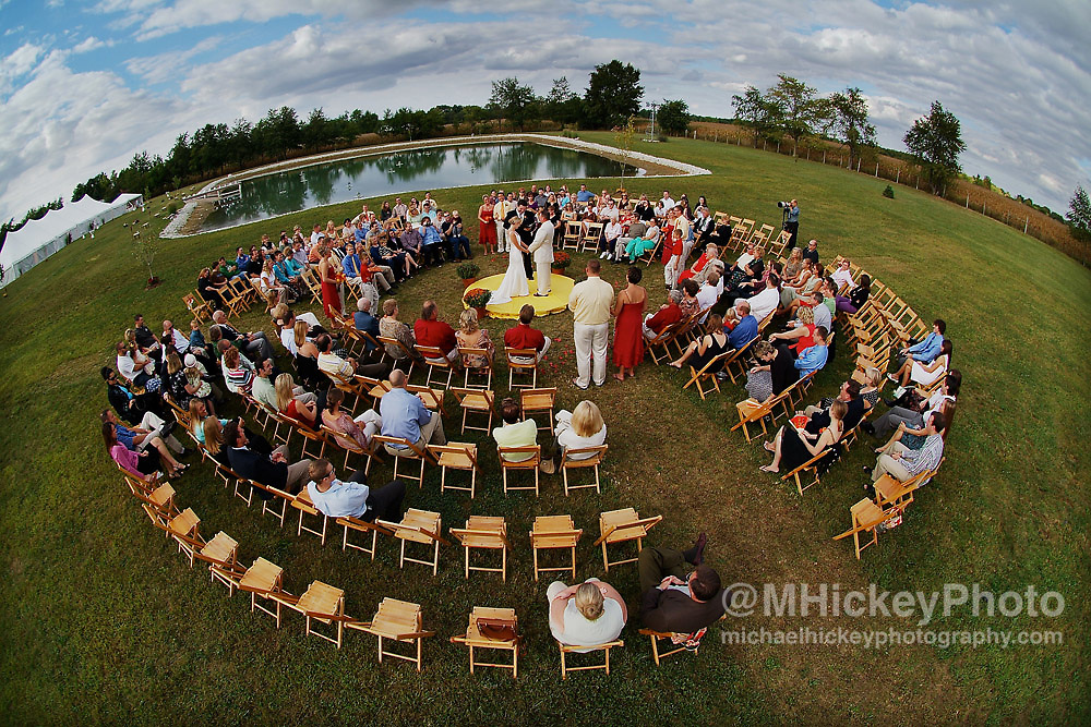 Wedding photography of Amber Lucas and Nate Boothby wedding in Kokomo, Indiana.<br /> By Michael Hickey, Wedding Photographer