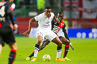 Fode KOITA / Fallou DIAGNE  - 25.01.2015 - Rennes / Caen  - 22eme journee de Ligue1<br /> Photo : Vincent Michel / Icon Sport *** Local Caption ***