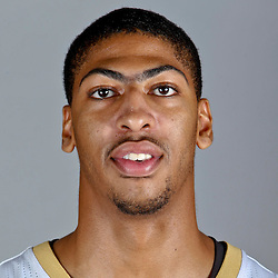 Sep 30, 2013; Metairie, LA, USA; New Orleans Pelicans power forward Anthony Davis (23) poses for a portrait at Pelicans Practice Facility. Mandatory Credit: Derick E. Hingle-USA TODAY Sports