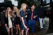 JADE PARFITT, The Summer party 2011 co-hosted by Burberry. The Summer pavilion designed by Peter Zumthor. Serpentine Gallery. Kensington Gardens. London. 28 June 2011. <br /> <br />  , -DO NOT ARCHIVE-© Copyright Photograph by Dafydd Jones. 248 Clapham Rd. London SW9 0PZ. Tel 0207 820 0771. www.dafjones.com.