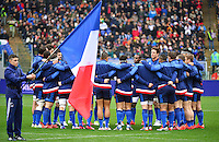 Equipe de France - 15.03.2015 - Rugby - Italie / France - Tournoi des VI Nations -Rome<br /> Photo : David Winter / Icon Sport