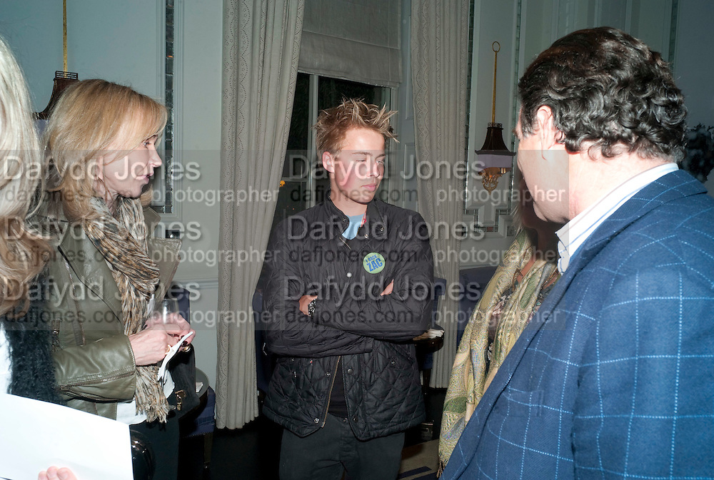 SEBASTIAN GODWIN, Henry Porter hosts a launch for Songs of Blood and Sword by Fatima Bhutto. The Artesian at the Langham London. Portland Place. 15 April 2010. *** Local Caption *** -DO NOT ARCHIVE-© Copyright Photograph by Dafydd Jones. 248 Clapham Rd. London SW9 0PZ. Tel 0207 820 0771. www.dafjones.com.<br /> SEBASTIAN GODWIN, Henry Porter hosts a launch for Songs of Blood and Sword by Fatima Bhutto. The Artesian at the Langham London. Portland Place. 15 April 2010.