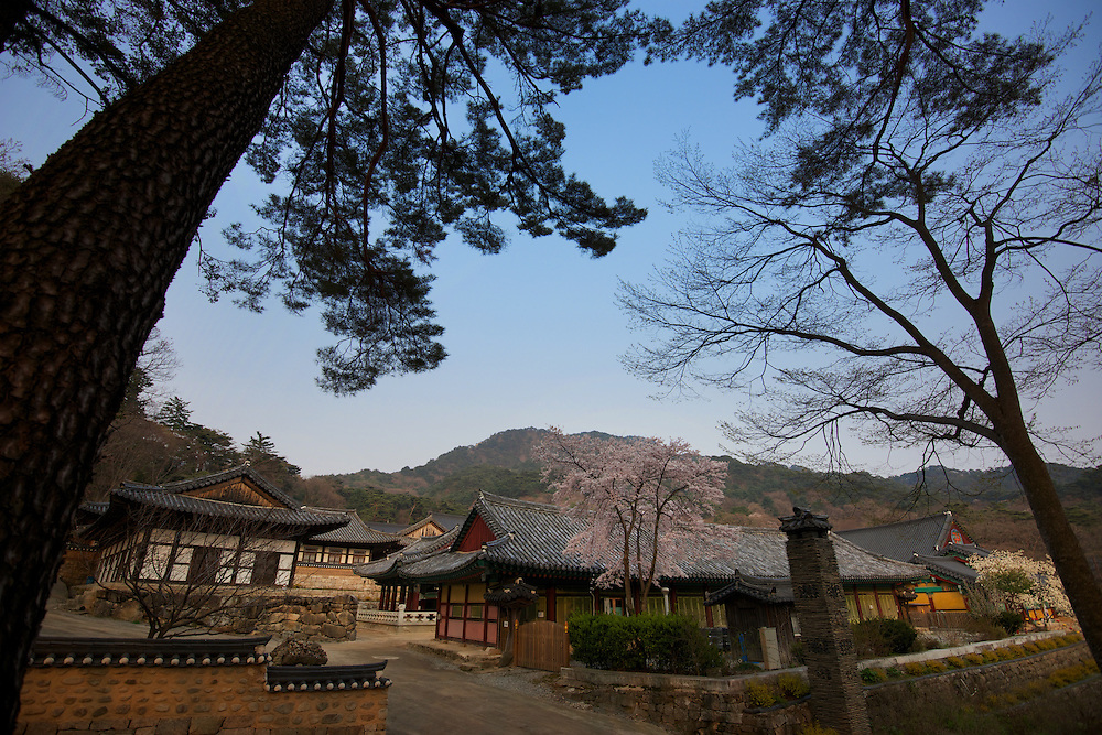 Haeinsa or the Temple of the Ocean Mudra, is a head temple of the Jogye Order, in the Gaya Mountains of South Gyeongsang Province.It is also home of the Tripitaka Koreana, the whole of the Buddhist Scriptures carved onto 81,350 wooden printing blocks, which it has housed since 1398.<br /> <br /> Haeinsa is one of the Three Jewel Temples of Korea. It represents Dharma or the Buddha&rsquo;s teachings.