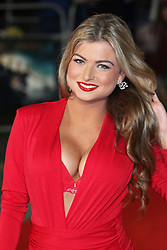 Zara Holland, Pride And Prejudice And Zombies - European Film Premiere,  Leicester Square, London UK, 1 February 2016, Photo by Richard Goldschmidt /LNP © London News Pictures