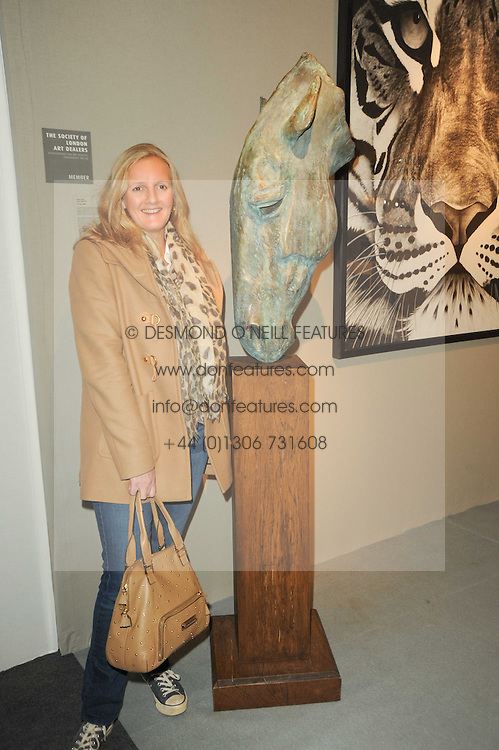 VIP reception of the Pavilion of Art & Design London 2010 held in Berkeley Square, London on 12th October 2010.<br /> Picture Shows:-ALEXANDRA HESELTINE.