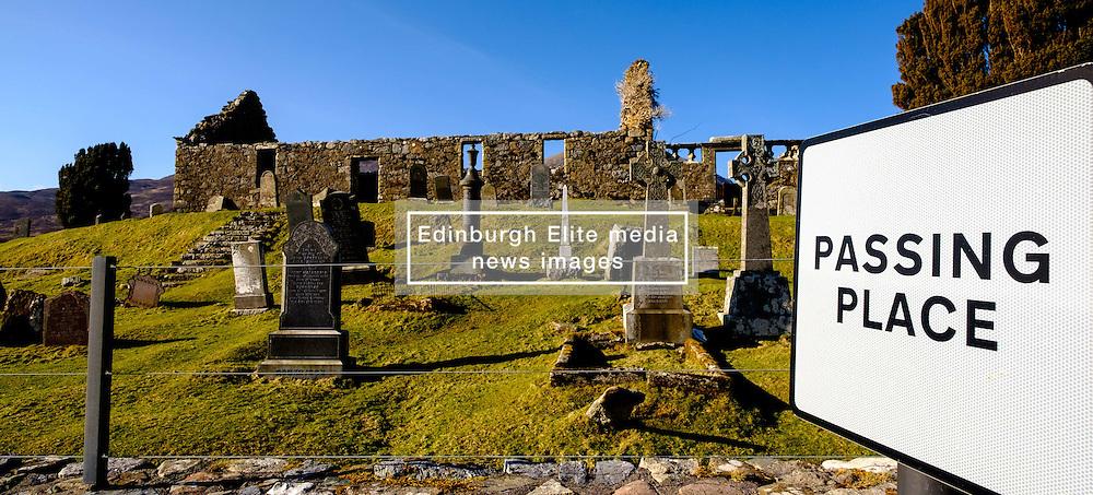 The ruins of Ciile Chriosd (Christ's Church) near Broadford, Isle of Skye, Scotland<br /> <br /> (c) Andrew Wilson | Edinburgh Elite media
