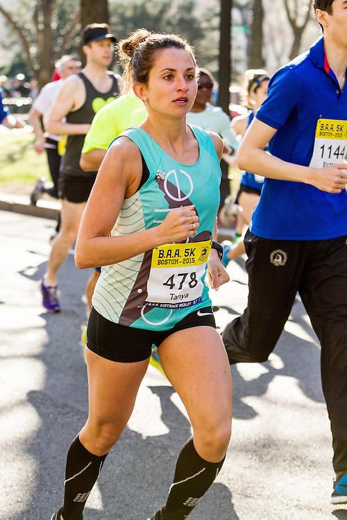 Boston Marathon: BAA 5K road race, Oiselle, Tanya