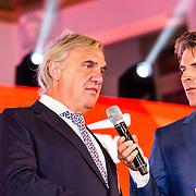 NLD/Scheveningen/20160713 - Perspresentatie sporters voor de Olympische Spelen 2016 in Rio de Janeiro, Andre Bolhuis en Twan van Peperstraten