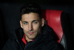 January 16, 2019 - Sevilla, Andalucia, Spain - Jesus Navas of Sevilla FC in the previous of the Copa del Rey match between Sevilla FC v Athletic Club at the Ramon Sanchez Pizjuan Stadium on January 16, 2019 in Sevilla, Spain  (Credit Image: © Javier MontañO/Pacific Press via ZUMA Wire)