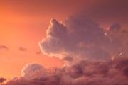 New Mexico cloudscape near Taos.
