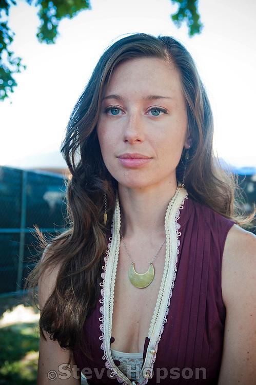 Lera Lynn, Austin City Limits Music Festival 2012, Austin, Texas, October 14, 2012.