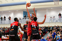 Mike Vigor of Bristol Flyers - Rogan Thomson/JMP - 05/11/2016 - BASKETBALL - SGS Wise Arena - Bristol, England - Bristol Flyers v Leicester Riders - BBL Championship.