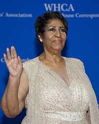 April 30, 2016 - Washington, District of Columbia, United States of America - Aretha Franklin arrives for the 2016 White House Correspondents Association Annual Dinner at the Washington Hilton Hotel on Saturday, April 30, 2016..Credit: Ron Sachs / CNP. (Credit Image: © Ron Sachs/CNP via ZUMA Wire)