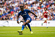 Chelsea (23) Michy Batshuayi during the FA Community Shield match between Arsenal and Chelsea at Wembley Stadium, London, England on 6 August 2017. Photo by Sebastian Frej.