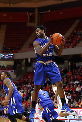 17 February 2016: Everett Clemons during the Illinois State Redbirds v Indiana State Sycamores at Redbird Arena in Normal Illinois (Photo by Alan Look)