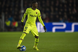 November 28, 2018 - Eindhoven, Netherlands - Ousmane Dembele of Barcelona with the ball during the UEFA Champions League Group B match between PSV Eindhoven and FC Barcelona at Philips Stadium in Eindhoven, Netherlands on November 28, 2018  (Credit Image: © Andrew Surma/NurPhoto via ZUMA Press)