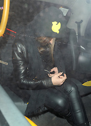 Chloe Green leaving the Drskt night club in London, UK. 05/03/2014<br />