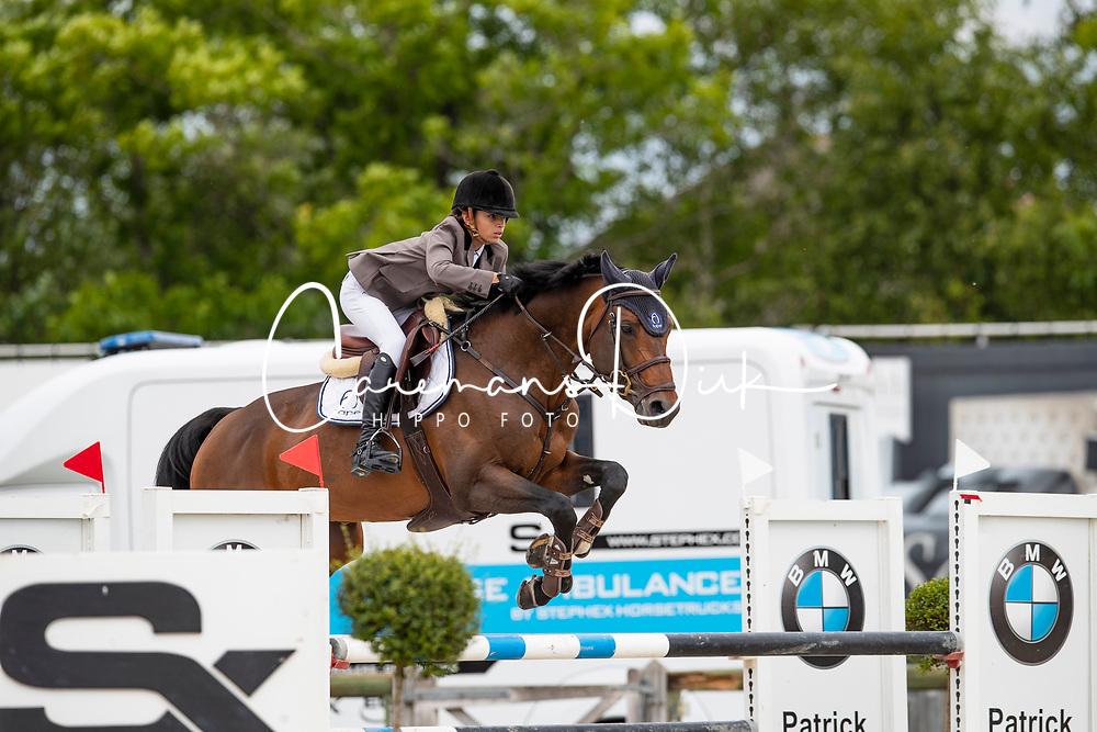 Neto de Azevedo Luiz Felipe, BRA, Caprice d'Elle<br /> Belgisch kampioenschap Young Riders - Azelhof - Lier 2019<br /> © Dirk Caremans<br /> 30/05/2019