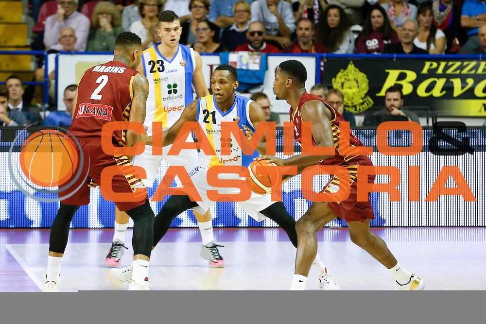 Archie Dominique<br /> Umana Reyer Venezia - Betaland Capo d'Orlando<br /> Lega Basket Serie A 2016/2017<br /> Venezia 09/10/2016<br /> Foto Ciamillo-Castoria