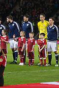 Mascots - Scotland v Denmark, International challenge match at Hampden Park<br /> <br />  - &copy; David Young - www.davidyoungphoto.co.uk - email: davidyoungphoto@gmail.com