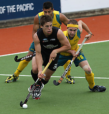 Auckland-Hockey, Champions Trophy, New Zealand v Australia