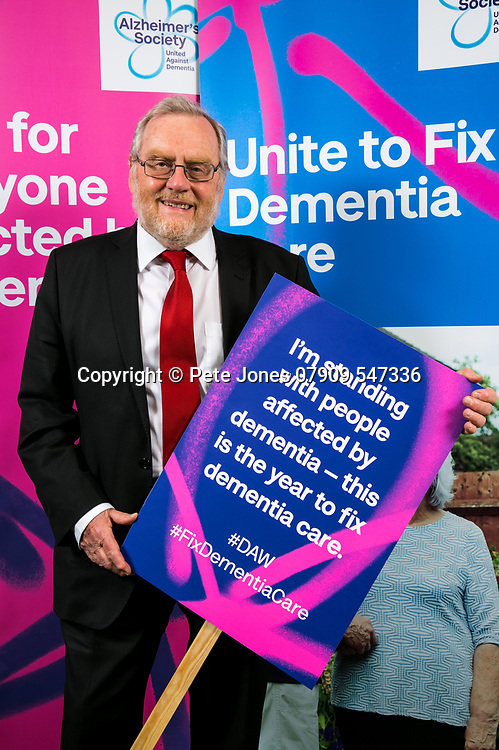"""John Spellar MP;<br /> Alzheimer's Society;<br /> """"Fix Dementia Care & State of the Nation""""<br /> Parliamentary report Launch;<br /> Houses of Parliament, Westminster.<br /> 23rd May 2018.<br /> <br /> © Pete Jones<br /> pete@pjproductions.co.uk"""