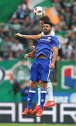 16.07.2016, Allianz Stadion, Wien, AUT, Testspiel, SK Rapid Wien vs Chelsea FC, im Bild Christoph Schoesswendter (SK Rapid Wien) und Diego Costa (Chelsea FC) // during a Austrian Bundesliga Football test match between SK Rapid Vienna and Chelsea FC at the Allianz Stadion, Wien, Austria on 2016/07/16. EXPA Pictures © 2016, PhotoCredit: EXPA/ Thomas Haumer