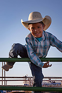 Kayenta 4th of July Rodeo, young Navajo boy, Arizona