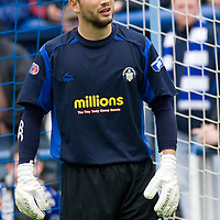 Greenock Morton FC....Season 2008-09<br /> Kevin Cuthbert<br /> Picture by Graeme Hart.<br /> Copyright Perthshire Picture Agency<br /> Tel: 01738 623350  Mobile: 07990 594431