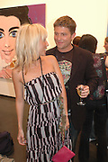 Alexandra von Furstenburg and Kenny Goss. 'Stellawood' exhibition of work by Stella Vine, Hamiltons. Carlos Place. London. 22 June 2005. ONE TIME USE ONLY - DO NOT ARCHIVE  © Copyright Photograph by Dafydd Jones 66 Stockwell Park Rd. London SW9 0DA Tel 020 7733 0108 www.dafjones.com