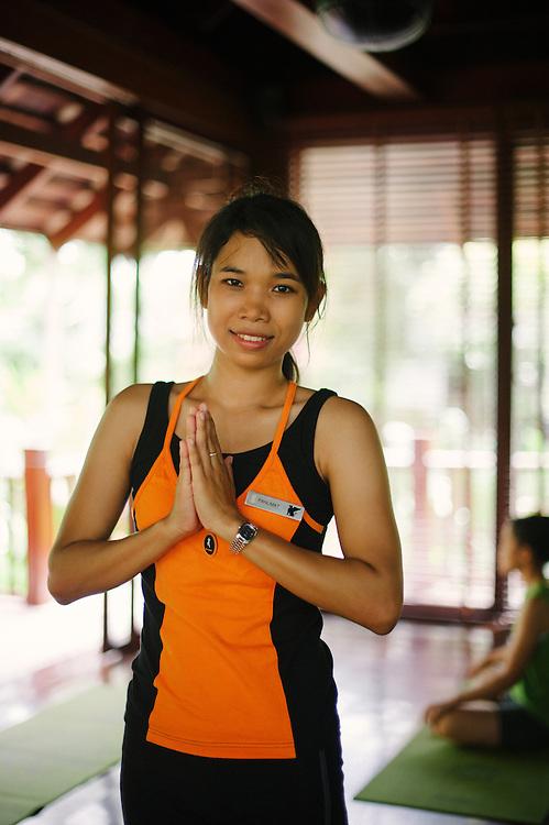 Yoga Instructor Marriott Beach Club Phuket