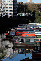 UK ENGLAND LONDON 2MAY16 - London Canal boats Lisson Grove marina in Maida Vale, west London.<br /> <br /> jre/Photo by Jiri Rezac<br /> <br /> © Jiri Rezac 2016