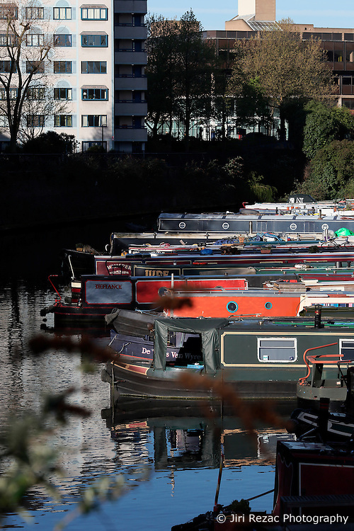 UK ENGLAND LONDON 2MAY16 - London Canal boats Lisson Grove marina in Maida Vale, west London.<br /> <br /> jre/Photo by Jiri Rezac<br /> <br /> © Jiri Rezac 2016