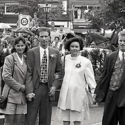 NLD/Bunschoten/19930616 - Huwelijk Dennis Bergkamp en Henrietta Ruizendaal, familieleden