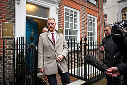 © Licensed to London News Pictures. 07/12/2018. London, UK. England cricketer BEN STOKES leaves an ECB disciplinary panel hearing in central London. The England and Wales Cricket Board will rule later today on whether further disciplinary action will be taken against Ben Stokes and fellow cricketer Alex Hales over their involvement in a fight outside a nightclub in Bristol in 2017. Both are charged with two counts of bringing the game into disrepute. Photo credit: Ben Cawthra/LNP