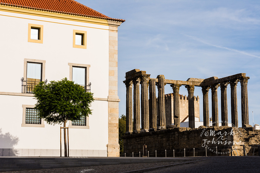 Roman Temple of Évora, Evora, Portugal