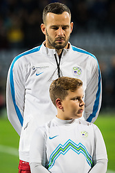 Samir Handanovic (SLO) during the UEFA EURO 2016 Play-off for Final Tournament, Second leg between Slovenia and Ukraine, on November 17, 2015 in Stadium Ljudski vrt, Maribor, Slovenia. Photo by Ziga Zupan / Sportida