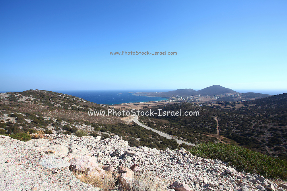 Antiparos, a small Greek island in the southern Aegean, at the heart of the Cyclades, Near Paros