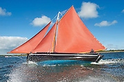 18/08/2013  Galway Hooker An Tonai during  the annual Crinniu na mBad (The Gathering of the boats) Festival in the picturesque village of Kinvara Co. Galway. Picture:Andrew Downes