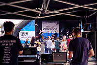 Humber Street, Kingston Upon Hull, East Yorkshire, United Kingdom, 05 August, 2017. Pictured: BBC Introducing Stage, Humber Street SESH