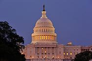 U.S. Capitol, The Mall, Washington D.C., District of Columbia, USA