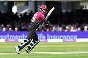 Tom Banton of Somerset batting during the Royal London 1 Day Cup Final match between Somerset County Cricket Club and Hampshire County Cricket Club at Lord's Cricket Ground, St John's Wood, United Kingdom on 25 May 2019.