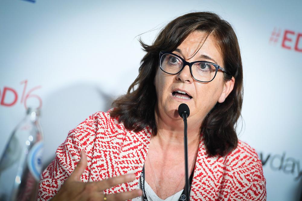 20160615 - Brussels , Belgium - 2016 June 15th - European Development Days - Impact investing for Africa - EABF Workshop - Christine Leurquin , Vice President , Institutional Relations , SES S.A © European Union