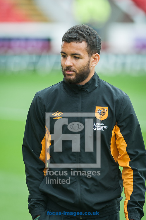 Kevin Stewart of Hull City prior to the Sky Bet Championship match at Oakwell, Barnsley<br /> Picture by Matt Wilkinson/Focus Images Ltd 07814 960751<br /> 21/10/2017