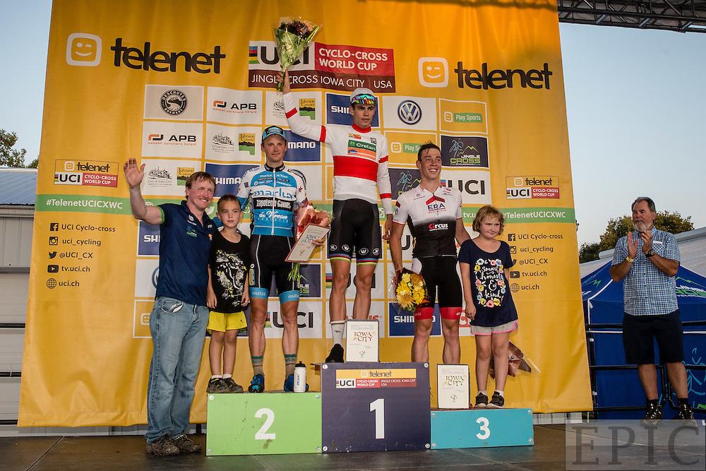 Wout Van Aert; Kevin Pauwels; Laurens Sweeck