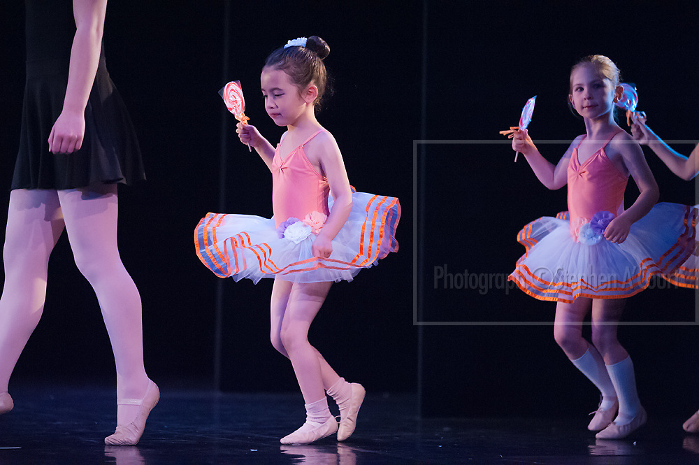 Wellington, NZ. 6.12.2015.  Lollipop March, from the Wellington Dance & Performing Arts Academy end of year stage-show 2015. Little Show, Sunday 3.15pm. Photo credit: Stephen A'Court.  COPYRIGHT ©Stephen A'Court