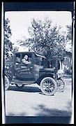 man posing with his pick-up truck Kansas City