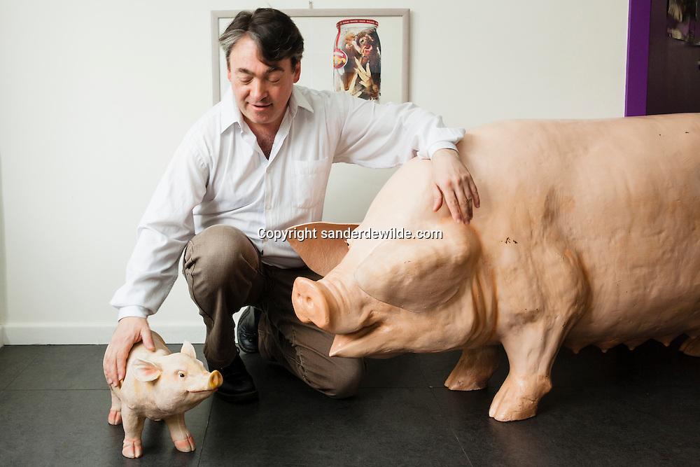 GAIA-voorzitter Michel Vandenbosch is de voorzitter van de dierenbeschermings vzw GAIA Gaja
