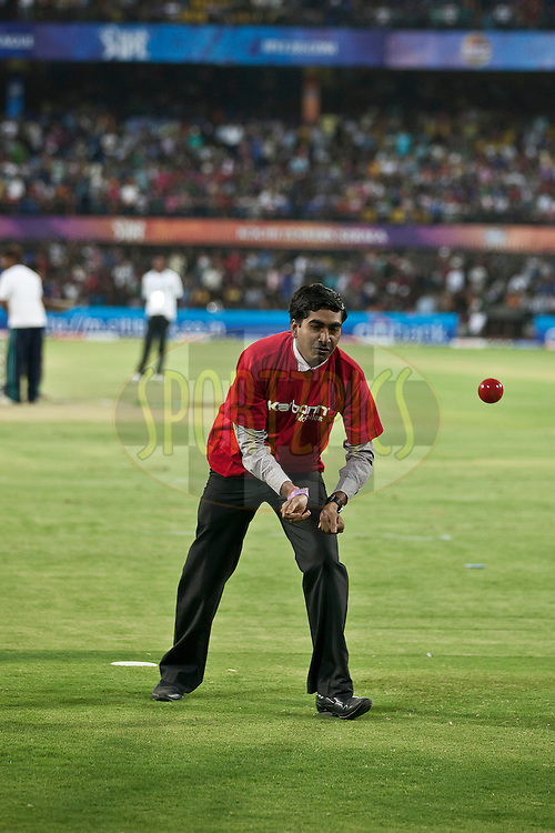 Karbon Kamal Katch contestant during match 61 of the Indian Premier League ( IPL ) Season 4 between the Kochi Tuskers Kerala and the Rajasthan Royals held at the Holkar Stadium in Indore, Madhya Pradesh, India on the 15th May  2011..Photo by Saikat Das/BCCI/SPORTZPICS